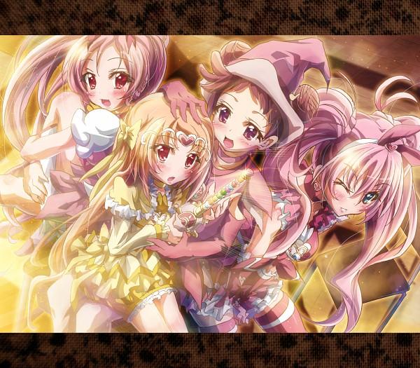 Tags: Anime, Ikatomo, Suite Precure♪, Heartcatch Precure!, Ojamajo DoReMi, Harukaze Doremi, Shirabe Ako, Hanasaki Tsubomi, Hojo Hibiki, Cure Blossom, Cure Muse, Cure Melody, Dream Spinner
