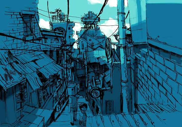 Tags: Anime, Matsumoto Taiyou, Tekkonkinkreet, Gogo Monster, Number 5, Tachibana Yuki, I.Q., Fanart