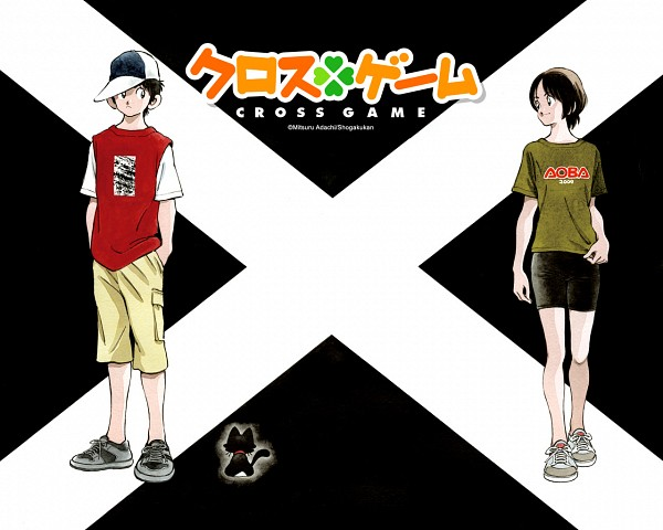 Tags: Anime, Cross Game, Wallpaper