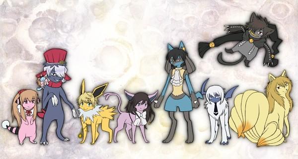 Tags: Anime, Pandora Hearts, Pokémon, Echo, Oz Vessalius, Absol, Emily (Pandora Hearts), Alice Blanche, Ninetales, Vincent Nightray, Espeon, Xerxes Break, Cheshire Cat (Pandora Hearts)