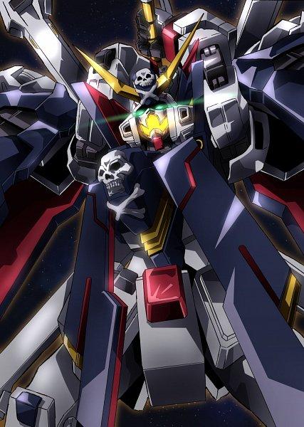 Tags: Anime, Tyuuboutyauyo, Mobile Suit Crossbone Gundam, Crossbone Gundam X-1 Full Cloth