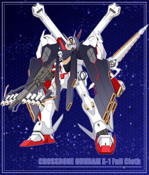 Tags: Anime, Leonard Liew, Mobile Suit Crossbone Gundam, Crossbone Gundam X-1 Full Cloth, Crossbow