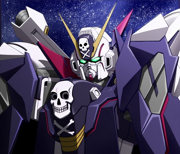 Tags: Anime, Kijiaka Mahiro, Mobile Suit Crossbone Gundam, Crossbone Gundam X-1 Full Cloth