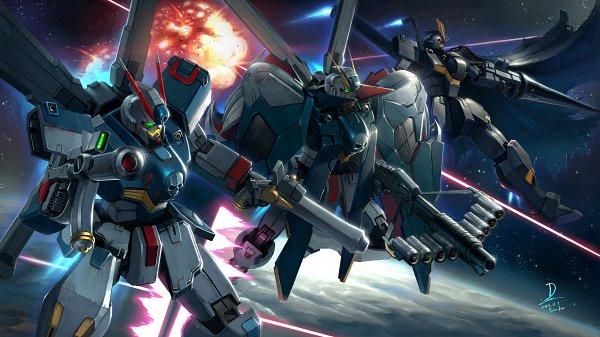 Crossbone Gundam X-3 - Mobile Suit Crossbone Gundam