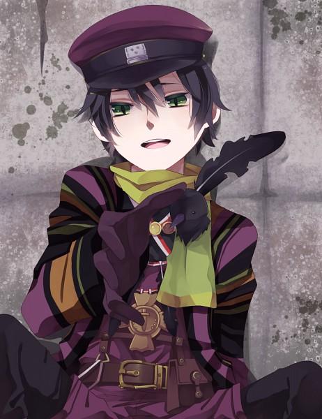 Tags: Anime, Oita (Pixiv842603), Namco, Fragile: Sayonara Tsuki no Haikyo, Crow (Fragile), Pixiv