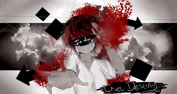 Tags: Anime, Aya-DNA, VOCALOID, Fukase (VOCALOID), Fanart From Pixiv, Fanart, HD Wallpaper, deviantART, Cruel Destiny, Pixiv, Wallpaper