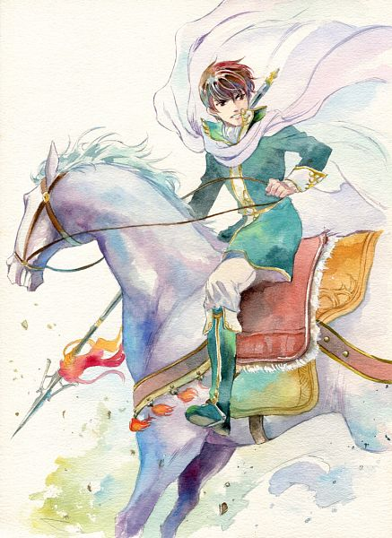 Tags: Anime, Agahari, Fire Emblem: Seisen no Keifu, Cuan (Fire Emblem), Fanart, Traditional Media, Pixiv, Quan (fire Emblem)