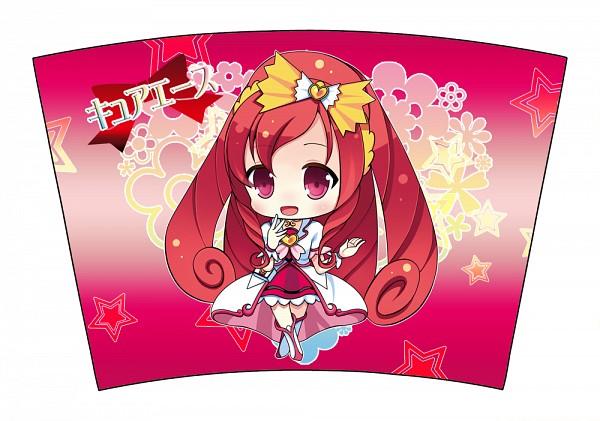 Tags: Anime, Narumiya Koneko, Dokidoki! Precure, Madoka Aguri, Cure Ace, Crossed Legs (Standing), Fanart, Fanart From Pixiv, Pixiv