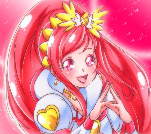 Tags: Anime, Shunciwi, Dokidoki! Precure, Madoka Aguri, Cure Ace, Fanart From Pixiv, Pixiv, Fanart, Twitter