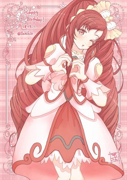 Tags: Anime, Pixiv Id 15259906, Dokidoki! Precure, Cure Ace, Madoka Aguri, Fanart, Fanart From Pixiv, Pixiv