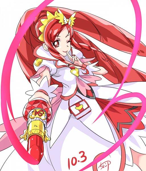 Tags: Anime, Pixiv Id 4531877, Dokidoki! Precure, Cure Ace, Madoka Aguri, Pixiv, Fanart, Fanart From Pixiv
