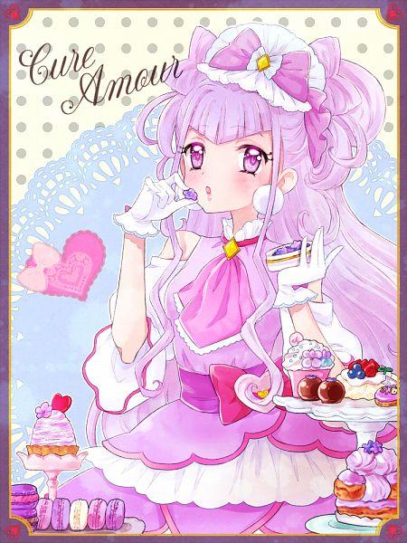 Tags: Anime, Pixiv Id 23770835, HUGtto! Precure, Cure Amour, Lulu (Precure), Twitter, Fanart From Pixiv, Pixiv, Fanart