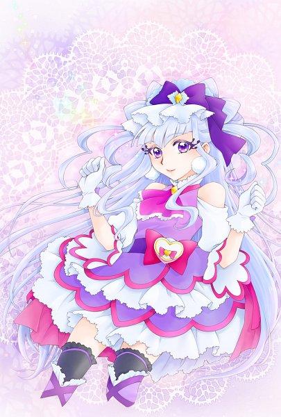 Tags: Anime, Pixiv Id 10336702, HUGtto! Precure, Lulu (Precure), Cure Amour, Pixiv, Fanart, Twitter, Fanart From Pixiv