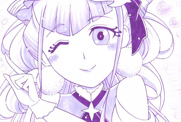 Tags: Anime, Pixiv Id 899731, HUGtto! Precure, Cure Amour, Lulu (Precure), Fanart From Pixiv, Pixiv, Fanart