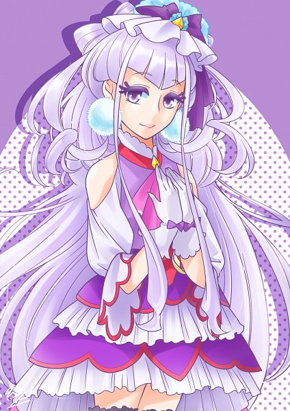 Tags: Anime, Pixiv Id 16907724, HUGtto! Precure, Lulu (Precure), Cure Amour, Fanart From Pixiv, Pixiv, Fanart