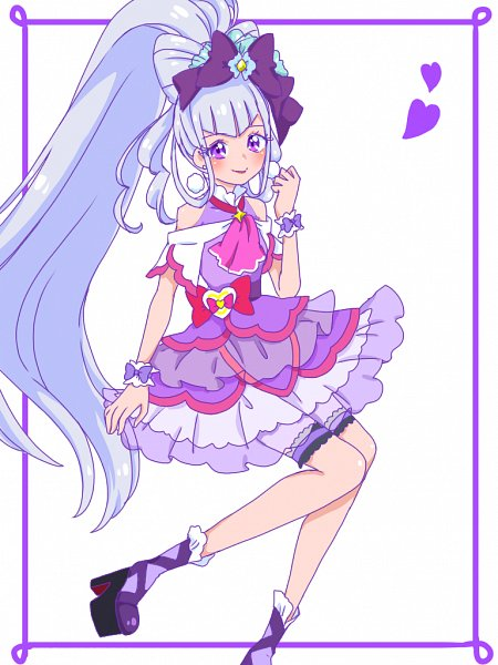 Tags: Anime, Pixiv Id 32013370, HUGtto! Precure, Cure Amour, Lulu (Precure), Fanart From Pixiv, Pixiv, Fanart