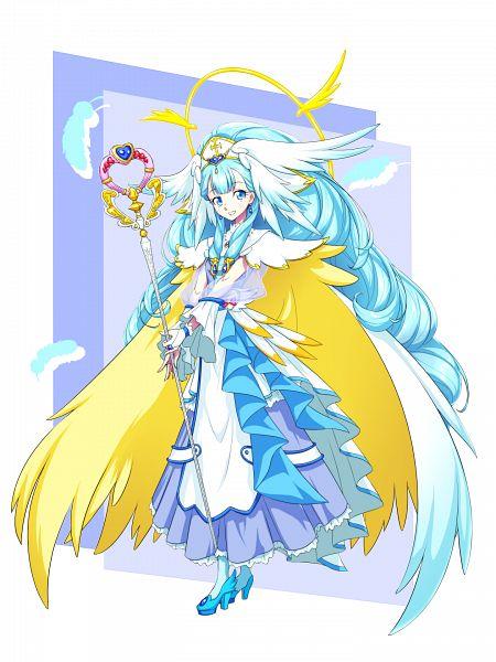 Tags: Anime, Pixiv Id 3411146, HUGtto! Precure, Cure Ange, Yakushiji Saaya, Twitter, Fanart From Pixiv, Pixiv, Fanart