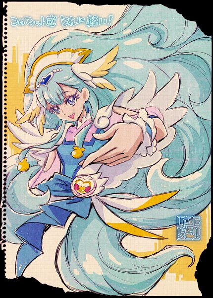 Tags: Anime, Kamikita Futago, HUGtto! Precure, Cure Ange, Yakushiji Saaya, Official Art