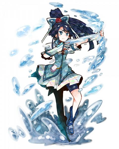 Tags: Anime, Ringetsumon, Yes! Precure 5, Minazuki Karen, Cure Aqua, Fanart From Pixiv, Fanart, Pixiv