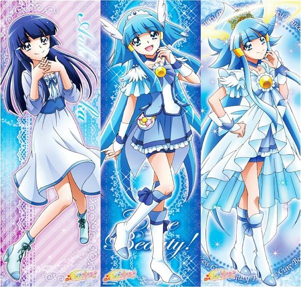 Tags: Anime, Toei Animation, Smile Precure!, Aoki Reika, Cure Beauty, Official Art