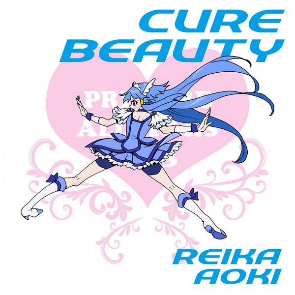 Tags: Anime, Eunos, Smile Precure!, Aoki Reika, Cure Beauty, Fanart From Pixiv, Pixiv, Fanart