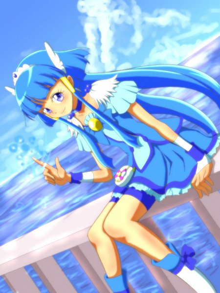 Tags: Anime, Pixiv Id 1430057, Smile Precure!, Aoki Reika, Cure Beauty, Fanart From Pixiv, Pixiv, Fanart