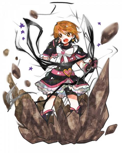 Tags: Anime, Ringetsumon, Futari wa Precure, Cure Black, Misumi Nagisa, Fanart From Pixiv, Fanart, Pixiv