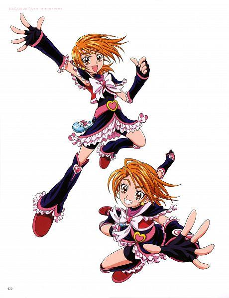 Tags: Anime, Inagami Akira, Toei Animation, Futari wa Precure, Inagami Akira Toei Animation Works, Cure Black, Misumi Nagisa, Official Art, Scan
