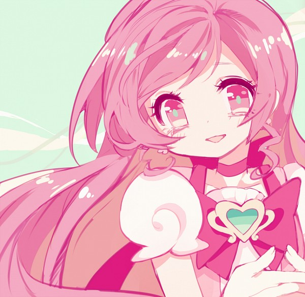 Tags: Anime, Pixiv Id 2150848, Heartcatch Precure!, Hanasaki Tsubomi, Cure Blossom, Fanart From Pixiv, Fanart, Pixiv