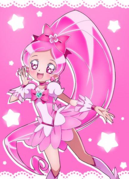 Tags: Anime, Shunciwi, Heartcatch Precure!, Hanasaki Tsubomi, Cure Blossom, Pixiv, Fanart From Pixiv, Fanart