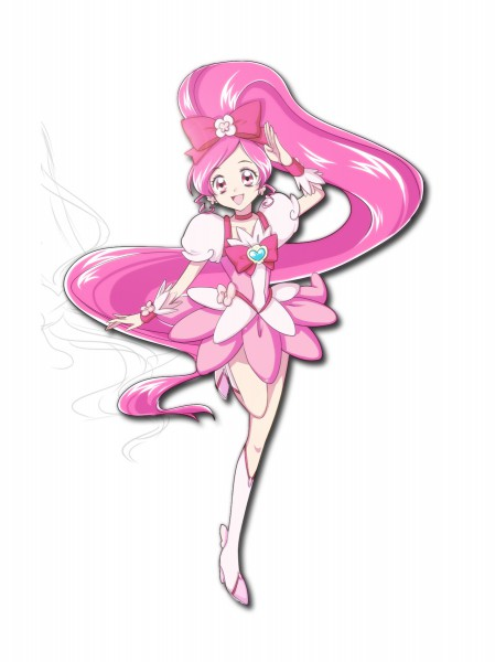 Tags: Anime, Imahia, Heartcatch Precure!, Cure Blossom, Hanasaki Tsubomi, Pixiv
