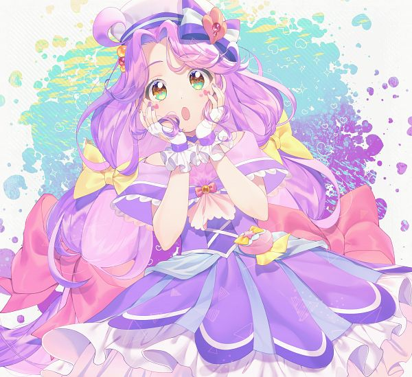 Tags: Anime, Yubiteru, Tropical-Rouge! Precure, Suzumura Sango, Cure Coral, Fanart From Pixiv, Pixiv, Fanart