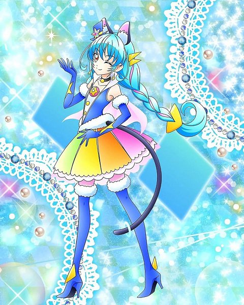 Cure Cosmo - Star☆Twinkle Precure