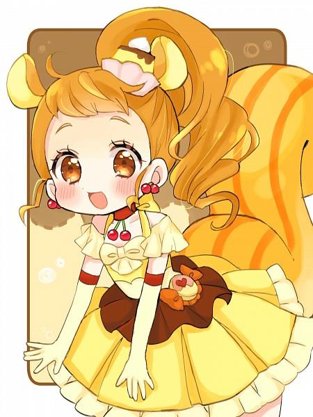 Tags: Anime, Pixiv Id 14988807, Kirakira☆Precure a la Mode, Arisugawa Himari, Cure Custard, Risumimi, Pixiv, Fanart, Mobile Wallpaper, Fanart From Pixiv