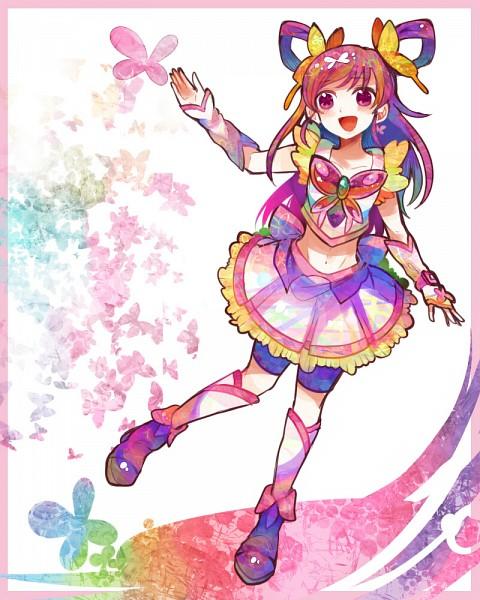 Tags: Anime, Ringetsumon, Yes! Precure 5, Yumehara Nozomi, Cure Dream, Purple Shorts, Fanart From Pixiv, Fanart, Pixiv
