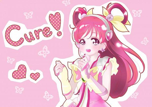 Tags: Anime, Pixiv Id 26237105, Yes! Precure 5, Yumehara Nozomi, Cure Dream, Pink Armwear, Twitter, Fanart From Pixiv, Fanart, Pixiv