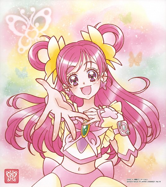 Tags: Anime, Toei Animation, Yes! Precure 5, Yumehara Nozomi, Cure Dream, Official Art