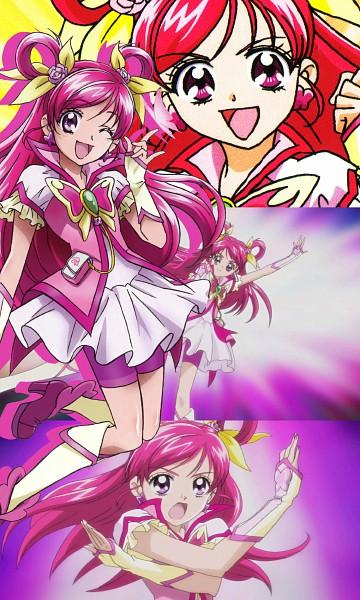 Tags: Anime, Yes! Precure 5, Yumehara Nozomi, Cure Dream, Screenshot