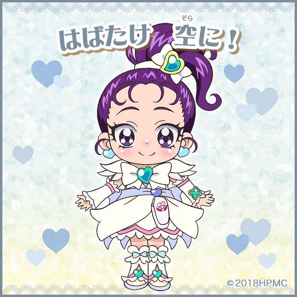 Tags: Anime, Toei Animation, Futari wa Precure Splash Star, Precure All Stars, Mishou Mai, Cure Egret, Official Art