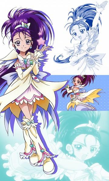 Tags: Anime, Futari wa Precure Splash Star, Mishou Mai, Cure Egret, Screenshot