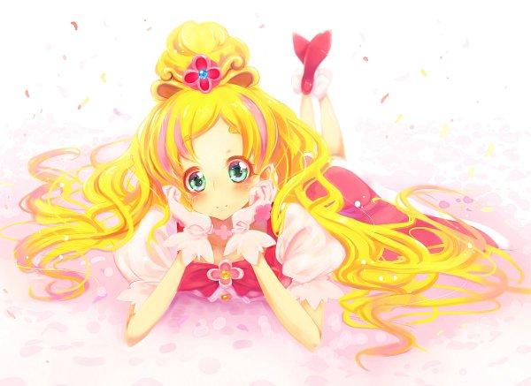 Tags: Anime, Pixiv Id 380554, Go! Princess Precure, Cure Flora, Haruno Haruka, Fanart, Fanart From Pixiv, Pixiv