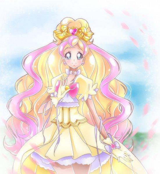 Tags: Anime, Shunciwi, Go! Princess Precure, Cure Flora, Haruno Haruka, Fanart From Pixiv, Pixiv, Fanart, Twitter