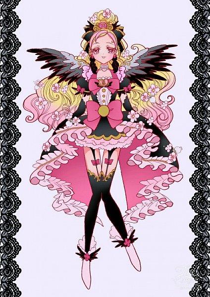 Tags: Anime, Pixiv Id 4055359, Go! Princess Precure, Cure Flora, Haruno Haruka
