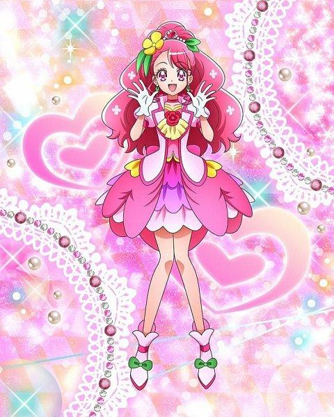 Tags: Anime, Healin'Good♥Precure, Precure Tsunagaru Puzzlun, Hanadera Nodoka, Cure Grace, Wallpaper
