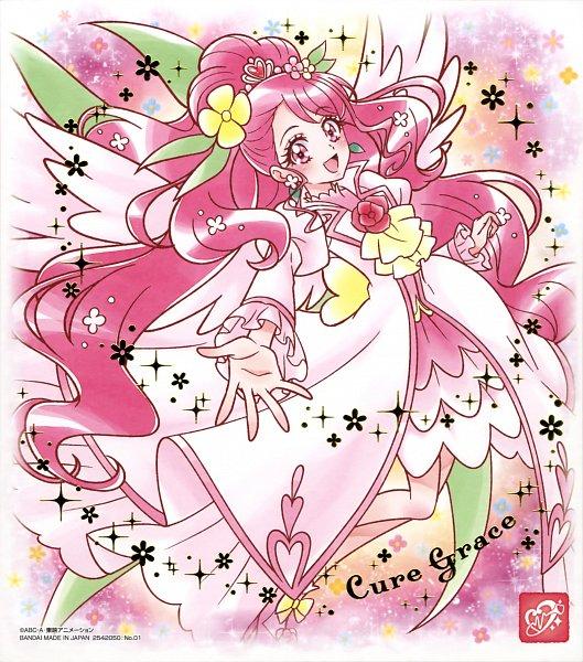 Tags: Anime, Healin'Good♥Precure, Hanadera Nodoka, Cure Grace, Official Art