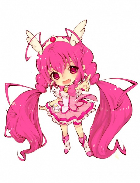 Tags: Anime, Nekometaru, Smile Precure!, Cure Happy, Hoshizora Miyuki, Fanart From Pixiv, Pixiv, Fanart