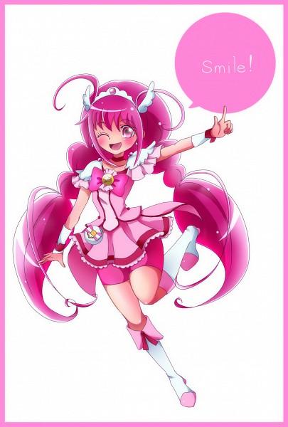 Tags: Anime, Pixiv Id 1706251, Smile Precure!, Hoshizora Miyuki, Cure Happy, Fanart From Pixiv, Pixiv, Fanart