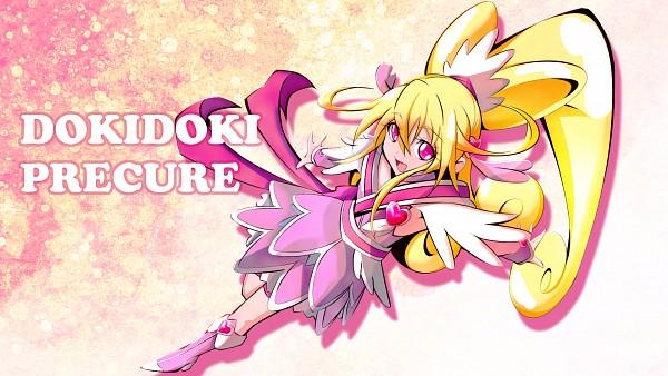 Tags: Anime, Rinon (Artist), Dokidoki! Precure, Aida Mana, Cure Heart, Wallpaper, Fanart, HD Wallpaper, Fanart From Pixiv, Pixiv