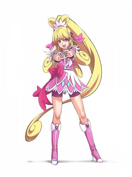Tags: Anime, Pixiv Id 249583, Dokidoki! Precure, Aida Mana, Cure Heart, Pink Shorts, Pixiv, Fanart, Fanart From Pixiv