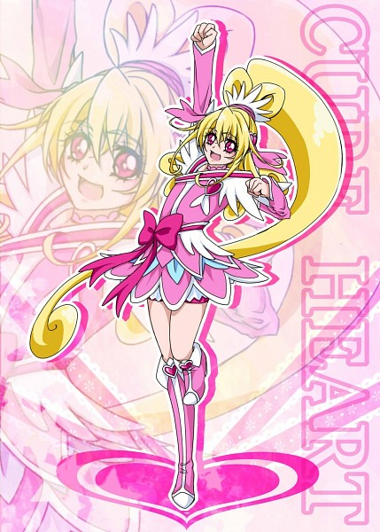 Tags: Anime, Pixiv Id 6841474, Dokidoki! Precure, Aida Mana, Cure Heart, Pink Shorts, Fanart From Pixiv, Pixiv, Fanart